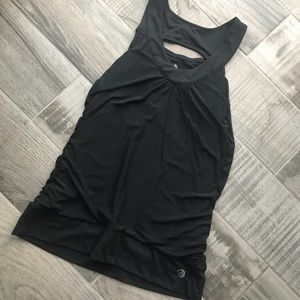 Ruched fitness tank